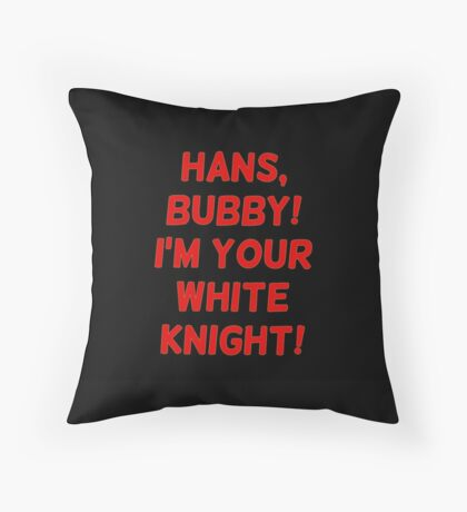 HANS BUBY! Throw Pillow