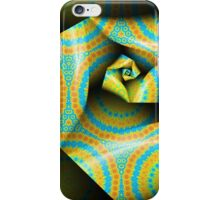 Folding and Pleating A Paper Spiral II iPhone Case/Skin