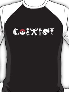 COEXIST 151 (for darker tees 2.0) T-Shirt