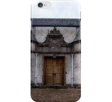 Leith Hall Back Entry - (Huntly, Aberdeenshire, Scotland) iPhone Case/Skin