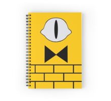 Bill Cipher Notebook Spiral Notebook