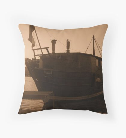 The Floating Diner Throw Pillow