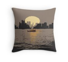 Listen To The Sunset Throw Pillow