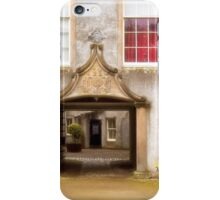 Leith Hall Architectural Details - (Huntly, Aberdeenshire, Scotland) iPhone Case/Skin