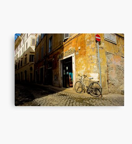 Margana Bike Canvas Print