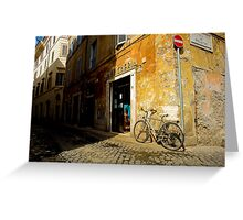 Margana Bike Greeting Card