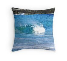 Mini wave Throw Pillow