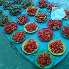 Red Hot Chillies Nadi market Fiji by Camelot