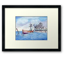 Day On The Island Framed Print