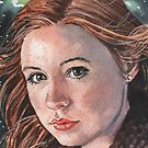 Doctor Who: Amy Pond by marksatchwillart