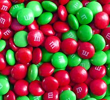 Christmas M&M's by Susan S. Kline