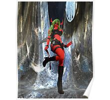 Crystal Curtains Scanty: 8x10  Poster
