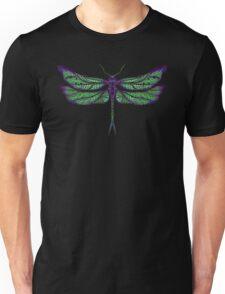 Dragonfly - Dark Colours Unisex T-Shirt