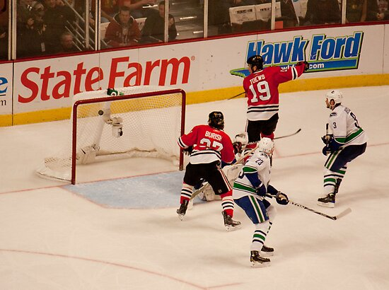 Chicago Blackhawks goal at game 5 Stanley Cup Playoffs by NVardijan