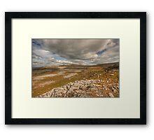 Scenic Burren Landscape Framed Print