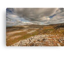 Scenic Burren Landscape Canvas Print