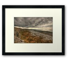 Fanore Burren View Framed Print