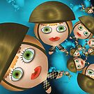 Inner Child - Little Commandos on Leave by lacitrouille