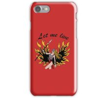 Let Me Live Claire Redfield iPhone Case/Skin