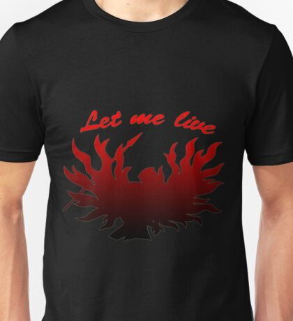 Let Me Live Claire Redfield Unisex T-Shirt