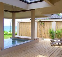 Jacuzzi and seats in Amorita Resort, Panglao Island, Bohol, Philippines by walterericsy