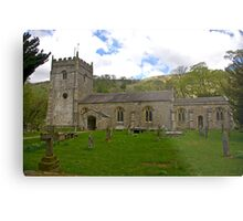 St Oswald's Church - Arncliffe Metal Print