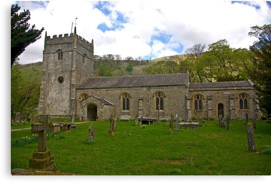 St Oswald's Church - Arncliffe by Trevor Kersley