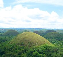 Chocolate Hills in Bohol, Philippines by walterericsy