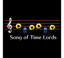 Song of Time Lords Photographic Print