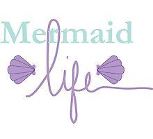 Mermaid Life Photographic Print