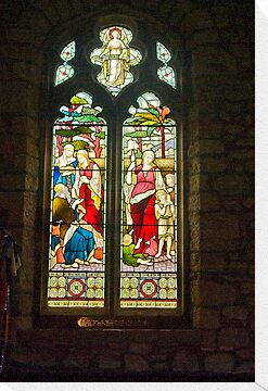 Window #1 - St Oswald's Church - Arncliffe by Trevor Kersley