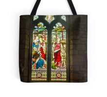 Window #1 - St Oswald's Church - Arncliffe Tote Bag