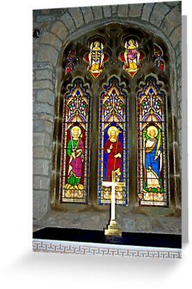 Window #2 - St Oswald's Church - Arncliffe by Trevor Kersley