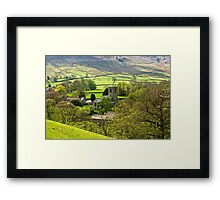 The Village Church at Burnsall Framed Print