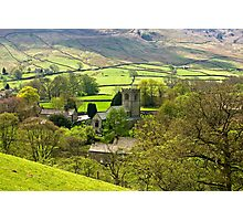 The Village Church at Burnsall Photographic Print