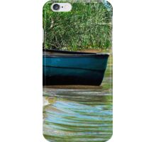 Watching the waves  iPhone Case/Skin