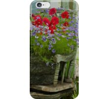 The Old And New - Digital Oil iPhone Case/Skin