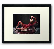 Your Blood Framed Print