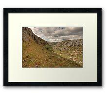 Black Head landscape Framed Print