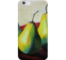 Trio of Pears iPhone Case/Skin