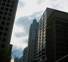Toronto Sky by MarianBendeth