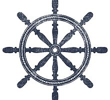 Nautical Wheel by Gypsykiss