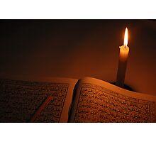 holly quran Photographic Print