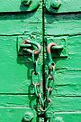 Green trailer & rusty chain by buttonpresser