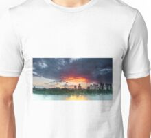 River Fire - Brisbane Qld Australia Unisex T-Shirt