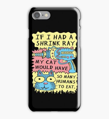 Shrink Ray Cat iPhone Case/Skin