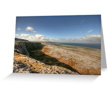 Fanore village view Greeting Card