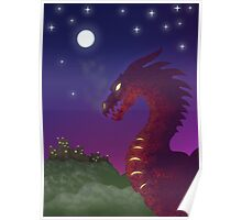 Medieval Dragon Poster