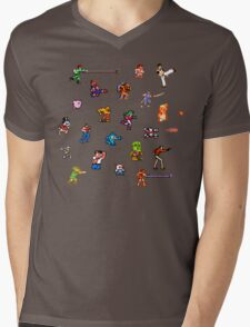 Champions of the NES! Mens V-Neck T-Shirt