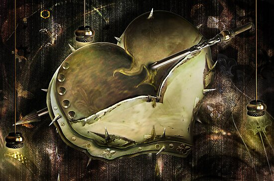 Metal Heart by Cornelia Mladenova